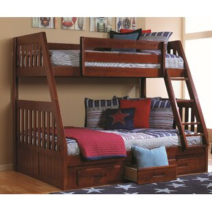 Find Trumble Twin Over Full Bunk Bed with Drawers By Viv + Rae