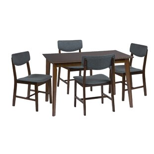 Bourke 5 Piece Dining Set Corrigan Studio