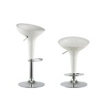 Culberson Adjustable Height Swivel Bar Stool (Set of 2) by Orren Ellis