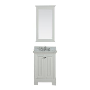 Review Cothern 24 Single Bathroom Vanity Set by Red Barrel Studio