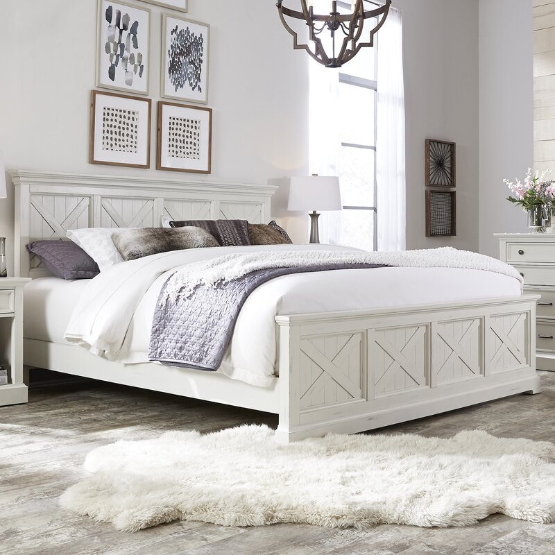 Laurel Foundry Modern Farmhouse Ryles Panel Piece Bedroom Set