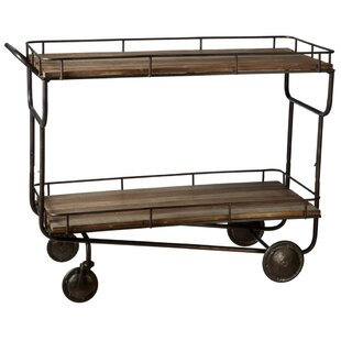 Gracie Oaks Aunesty Bar Cart