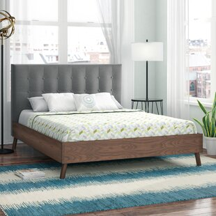 Brayden Studio Smallwood Upholstered Platform Bed