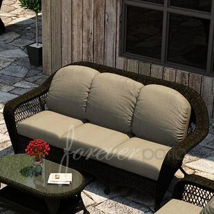 Forever Patio Catalina Deep Sunbrella Sofa Set with Cushions