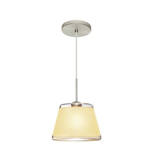 Pica 1-Light Cone Pendant by B..