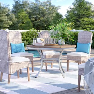 Hillard Solid Wood Dining Table by Sol 72 Outdoor