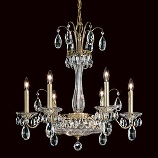 Schonbek Fontana Luce 6-Light Chandelier