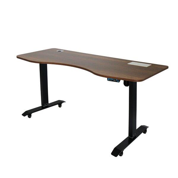 Symple Stuff Herrin Height Adjustable Standing Desk Wayfair