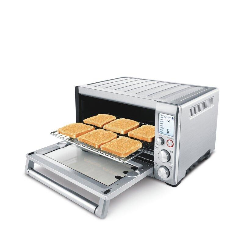Breville 0 8 Cu Ft Smart Countertop Oven Amp Reviews Wayfair