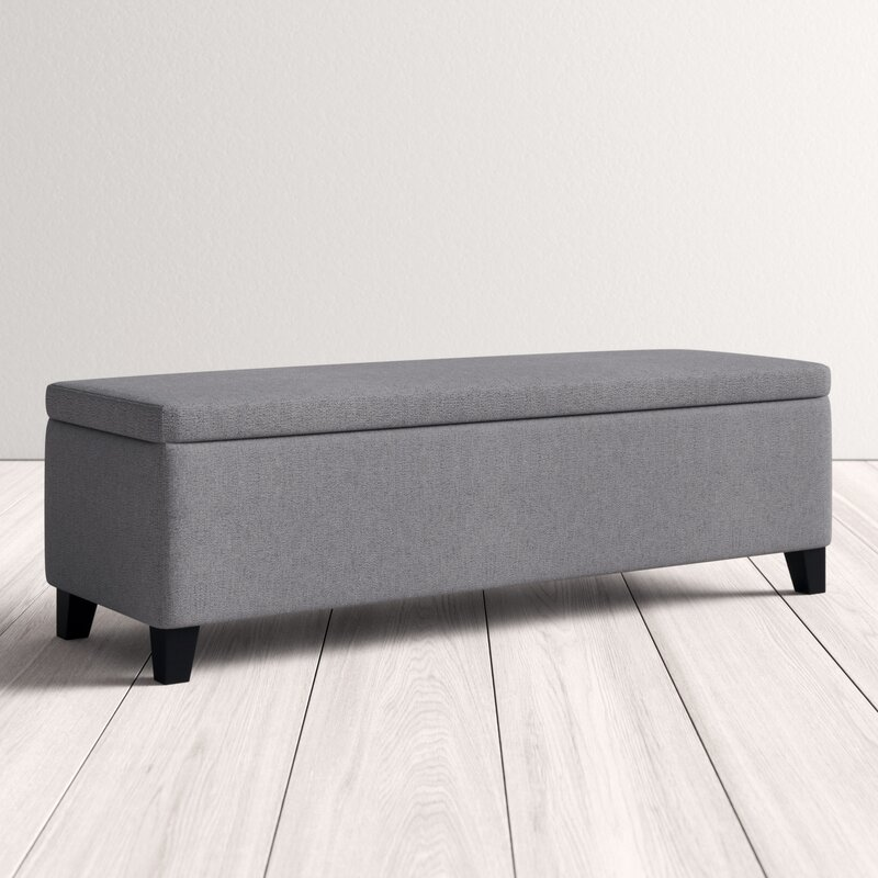 Fantastic Schmit Upholstered Storage Bench Gmtry Best Dining Table And Chair Ideas Images Gmtryco