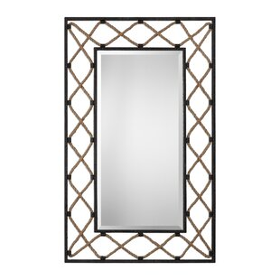 17 Stories Beveled  Wall Mirror