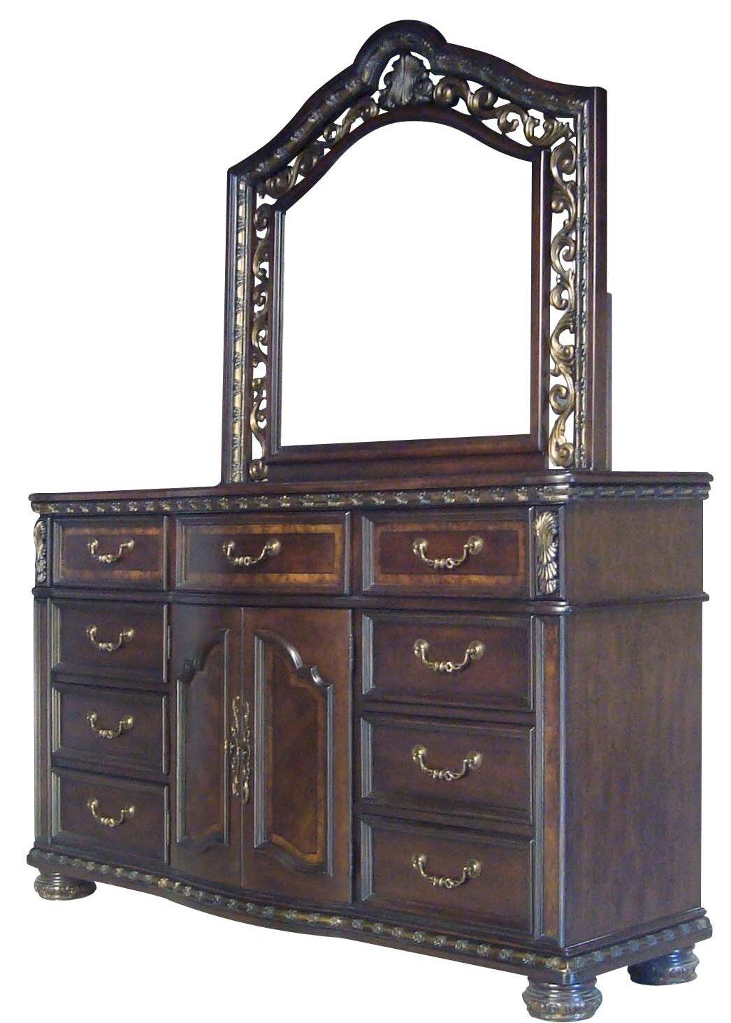 Astoria Grand Henegar 9 Drawer Combo Dresser Wayfair