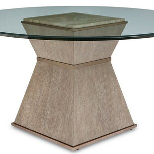 Everly Quinn Regine Round Base Dining Table