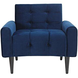 Perry Velvet Armchair