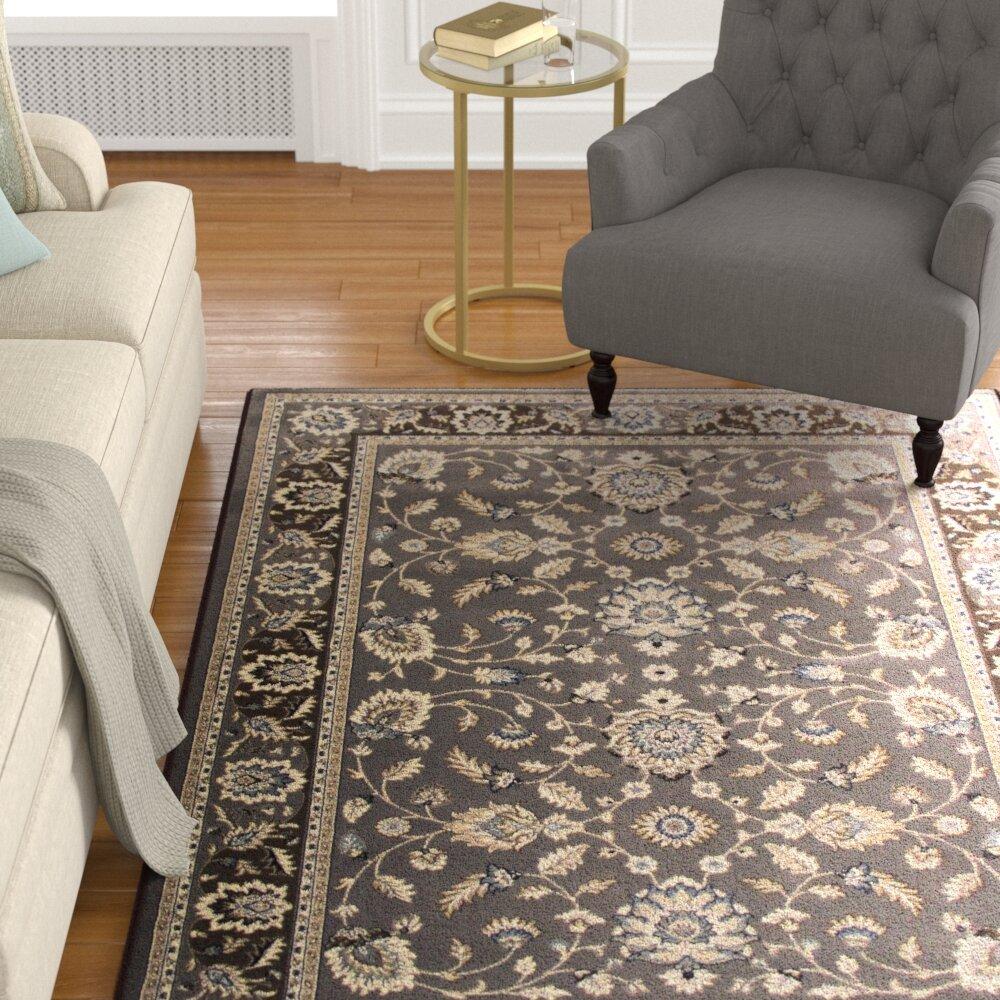 Astoria Grand Lang Oriental Gray Area Rug Reviews Wayfair