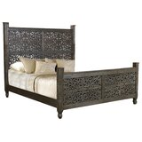 Buena Park Sleigh Solid Wood 5 Piece Bedroom Set by Bungalow Rose