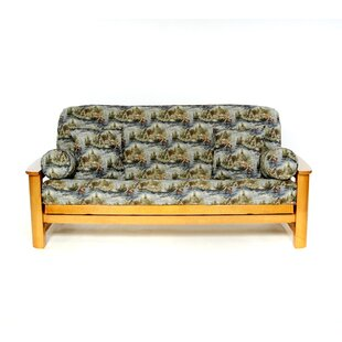 Gone Fishing Box Cushion Futon Slipcover
