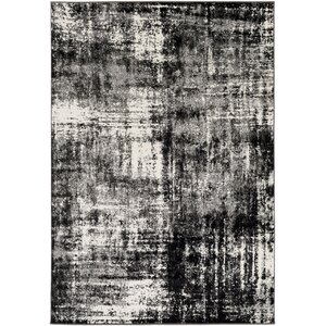 Shuff Charcoal/Black Area Rug