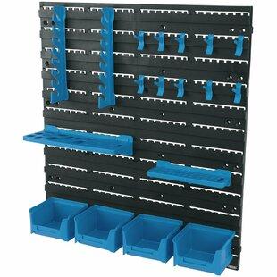 18 Piece Storage Tool Rack Kit By Draper