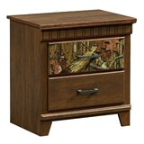Hayward 2 Drawer Nightstand by Loon Peak®