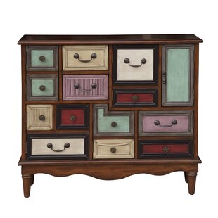 Oatfield Eclectic 6 Door Accent Chest by Bungalow Rose