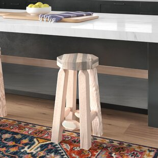 Abella 24 Round Bar Stool Loon Peak