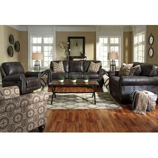 Conesville Reclining Configurable Living Room Set by Three Posts