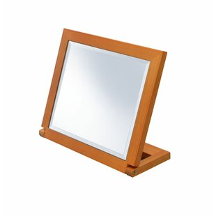 Ebern Designs Balch Rectangular Tilted Beveled Makeup/Shaving Mirror