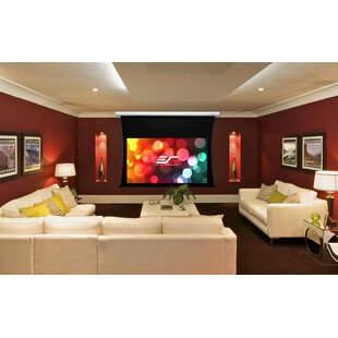 CineTension B Series White Electric Projection Screen