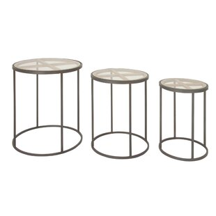 Reviews Orianna Contemporary 3 Piece Nesting Tables By Union Rustic