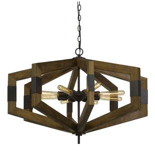 Troncoso 8-Light Geometric Chandelier by Williston Forge