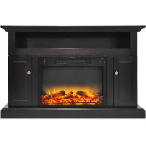Broncho Modern Electric Fireplace TV Stand by Alcott Hill