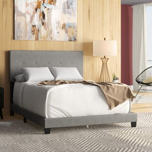Inexpensive Fedor Fabric Upholstered Panel Bed by Wrought Studio Reviews (2019) & Buyer's Guide