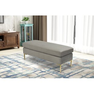Mercer41 Hovis Upholstered Bench