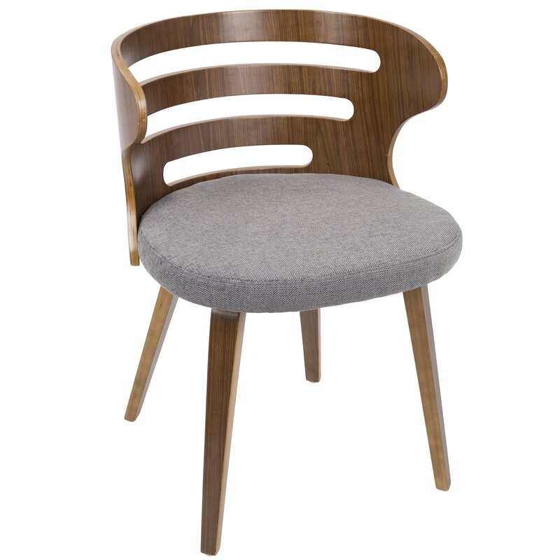 Baehr Mid Century Modern Upholstered Dining Chair