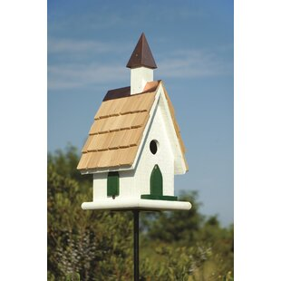 Heartwood Country Church 17.5 in x 8 in x 8 in Birdhouse