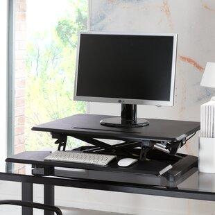 70cm H X 76cm W Standing Desk Conversion Unit By Symple Stuff