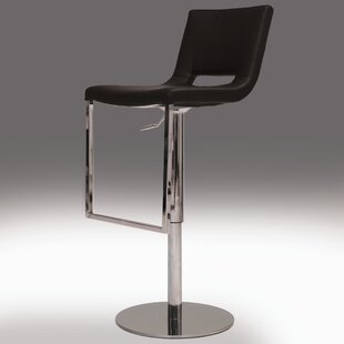 Ozar Adjustable Height Swivel Bar Stool by Mobital