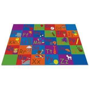Affordable All in a Row Letter Kids Rug ByKid Carpet