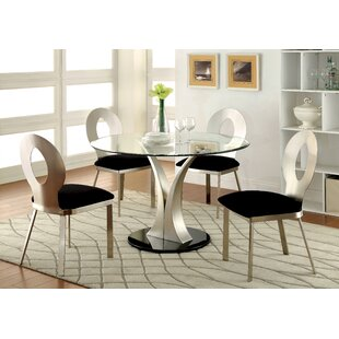 Bertita 5 Piece Dining Set
