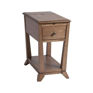 Fontana End Table with Storage by Darby Home Co