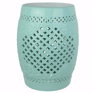 Ophelia & Co. Gwen Perfectly Complimenting Cutout Motif Garden Stool
