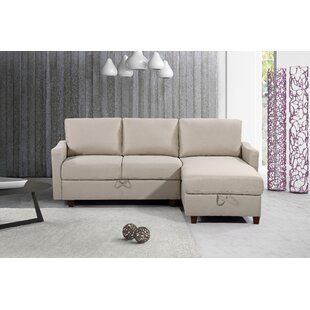 Miers Storage Reversible Sectional by Brayden Studio