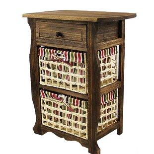 Millwood Pines Long Ashton Wood Storage 1 Drawer Nightstand
