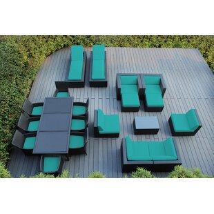 Baty 20 Piece Complete Patio Set with Cushions ByOrren Ellis