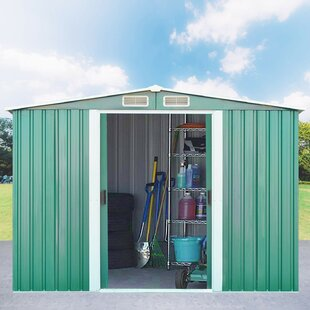 10ft. X 8ft. Apex Metal Shed By WFX Utility