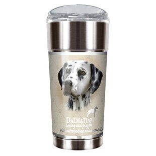 Howard Robinson's Dalmatian 24 Oz. Stainless Steel Travel Tumbler by Great American Products Best Design