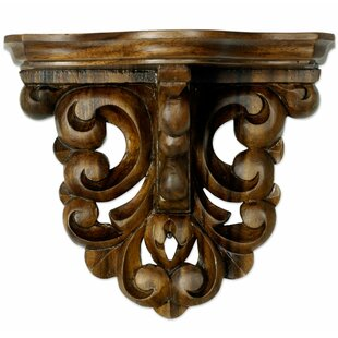 Colonial Grace Accent Shelf by Novica