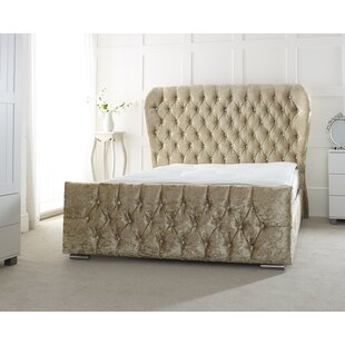 Miracle Upholstered Sleigh Bed By Willa Arlo Interiors