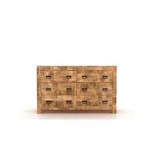 Loon Peak Roselli 6 Drawer Double Dresser